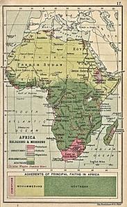 Afrika innan 1:a världskriget