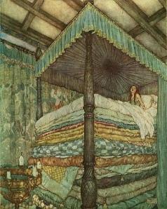 Hur många madrasser behövs det innan man har glömt ärtan?